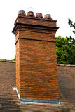 Chimney pot Royalty Free Stock Images