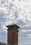 Chimney pot in Italy Stock Images