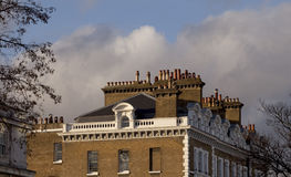 Chimney Pots of London. Royalty Free Stock Images