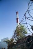 Chimney power plant Royalty Free Stock Image