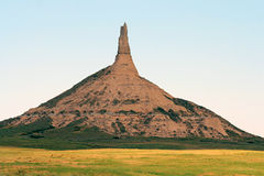 Chimney Rock stock photo