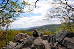 Chimney Rock, Appalachian Mountains Maryland Stock Images