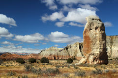 Chimney Rock at Kodachrome Basin Stock Photography