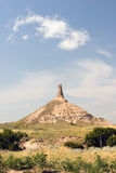 Chimney Rock Morrill County Western Nebraska Royalty Free Stock Photography