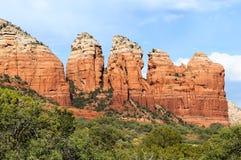 Free Chimney Rock Near Sedona Royalty Free Stock Image - 30133636