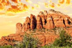 Free Chimney Rock Near Sedona Stock Photography - 33416652