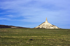 Chimney Rock in Nebraska Royalty Free Stock Photo