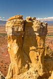 Chimney Rock, New Mexico rock formation Stock Photography