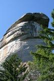 Chimney Rock in North Carolina Stock Photo