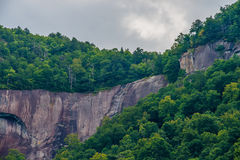 Chimney rock park and lake lure scenery Royalty Free Stock Photo