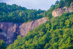 Chimney rock park and lake lure scenery Royalty Free Stock Images