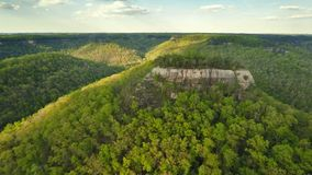 Chimney Rock in Red River Gorge stock footage