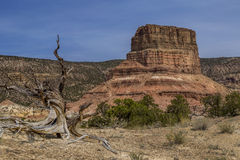 Chimney Rock at the San Rafael Swell in Utah Stock Photo