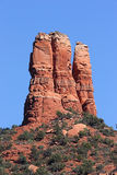 Chimney Rock in Sedona Arizona. Chimney Rock in Oak Creek Canyon in Sedona Arizona royalty free stock photos