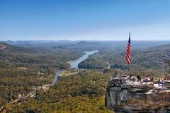 Chimney Rock State Park royalty free stock photo