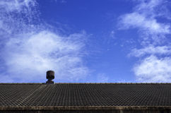 Chimney on a roof Royalty Free Stock Photo