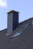 chimney on the roof Stock Photos