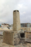 Chimney on the roof. Jerusalem Stock Image
