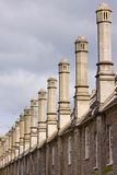 Chimney Row Royalty Free Stock Images
