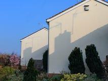 Chimney shadows Stock Photos