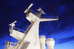 Chimney of the ship Royalty Free Stock Images