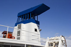 Chimney ship Royalty Free Stock Photos