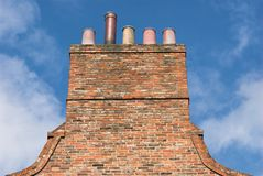 Chimney Stack Royalty Free Stock Photography