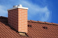 Chimney stack Royalty Free Stock Photo