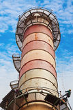 Chimney stack inspection Royalty Free Stock Image