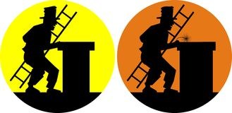Chimney sweep Stock Images