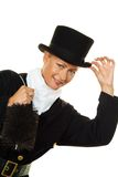 Chimney sweep. Stock Image