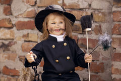 Chimney Sweep Girl Stock Images