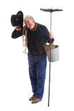 Chimney sweep greetings Stock Photo