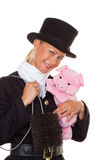 Chimney sweep. Lucky Royalty Free Stock Images