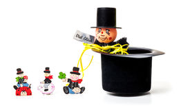 Chimney sweep, lucky charms Stock Images