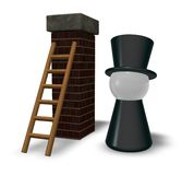 Chimney sweeper Royalty Free Stock Images