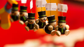 Chimney sweeper ornaments Stock Images