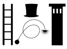 chimney sweeper symbol  Stock Photos