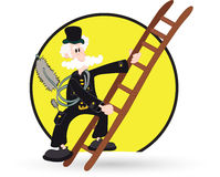 Chimney sweeper Stock Image