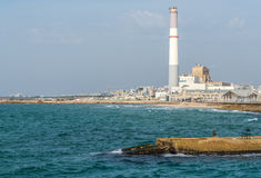 Chimney in Tel Aviv Stock Photo