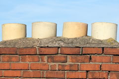 Chimney top Royalty Free Stock Image