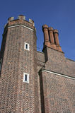 Chimney & Turret on Hampton Court Palace Building Stock Photography