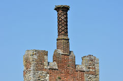Chimney on Walls Royalty Free Stock Photos