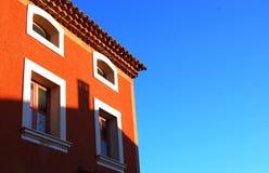 chimneypot σκιά Στοκ φωτογραφίες με δικαίωμα ελεύθερης χρήσης