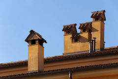 Chimneys Royalty Free Stock Photos