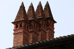 Chimneys Royalty Free Stock Images