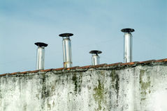 Chimneys Royalty Free Stock Image