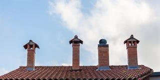Chimneys Stock Image