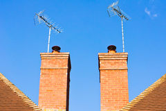Chimneys Royalty Free Stock Photo