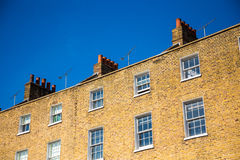 Chimneys on the city buildings, London Stock Image